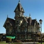 The Carson Mansion in Eureka, CA is considered to be the highest execution of American Queen Anne style.