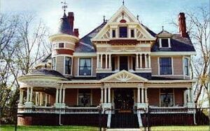A Queen Anne in all its splendor is a beautifully ornate and complex piece of architecture.