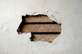 Crumbling Plaster Wall