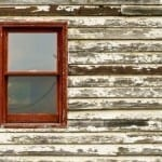 Old Window and Siding