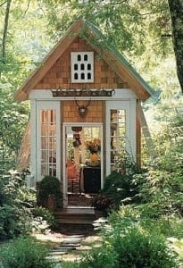 Tiny House in Garden