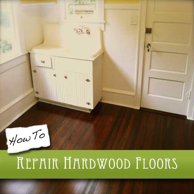 How To Repair Hardwood Floors The Craftsman Blog