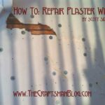 How to repair plaster walls