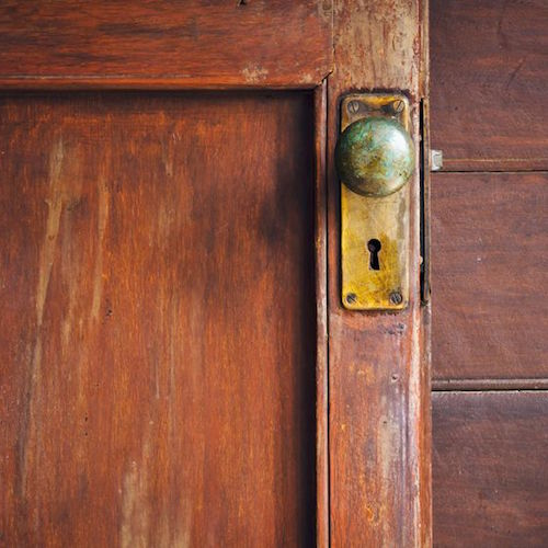 How To Re An Antique Door