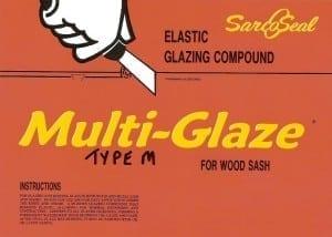 Sarco Type M multi-glaze putty