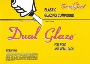 Sarco dual-glaze putty