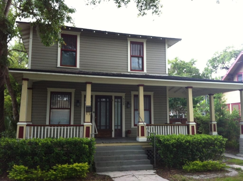 Historic House Style The American Foursquare By The