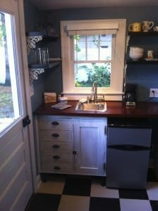 cozy kitchenette