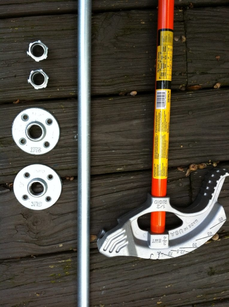 Diy Neo Angle Shower Rod.How To Make An Industrial Style Curtain Rod
