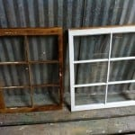Dip stripped windows