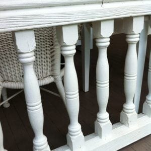 Balusters in a balustrade