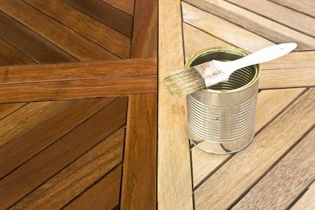 Selecting the right wood finish the craftsman blog for Exterior polyurethane for decks