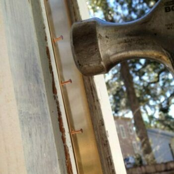 How to weatherstrip wood windows