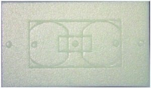 electrical outlet gasket