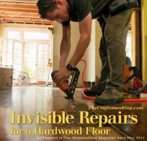 Invisible Repairs Hardwood Floor