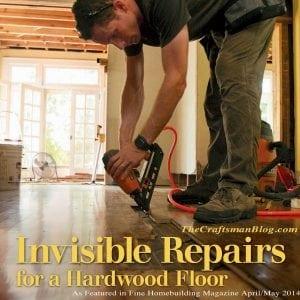 Invisible Repairs Hardwood Floor
