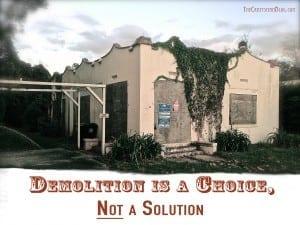 Old Home Demolition