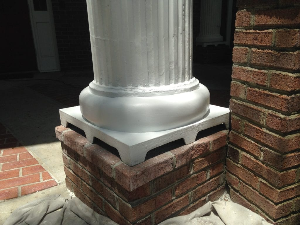 Rotted wood repair with abatron epoxy the craftsman blog for 10 foot porch columns