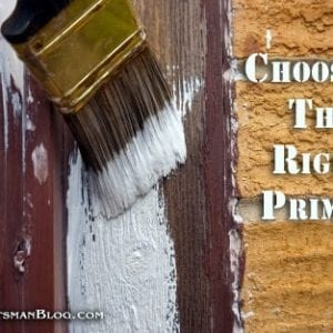 Choosing the Right Primer