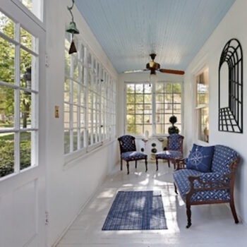Ask the Craftsman: Why are Porch Ceilings Blue?