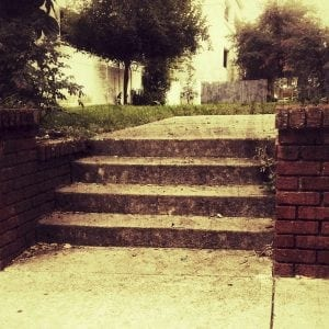 Empty stairs