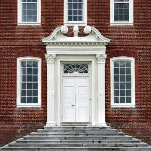Georgian entryway