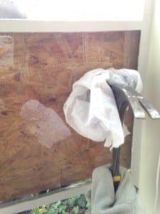 steel window glass replacement