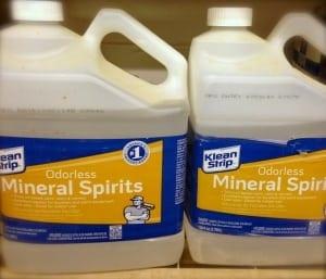 free mineral spirits