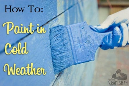 Can You Store Paint In Freezing Weather