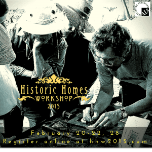 Historic Homes Workshop