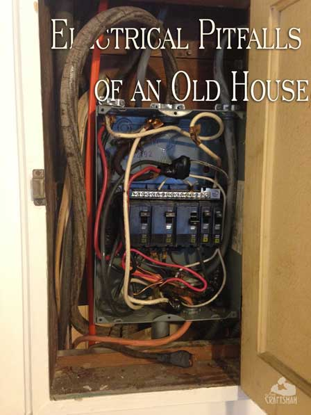 electrical pitfalls of an old house the craftsman blog rh thecraftsmanblog com old house wiring types old house wiring style