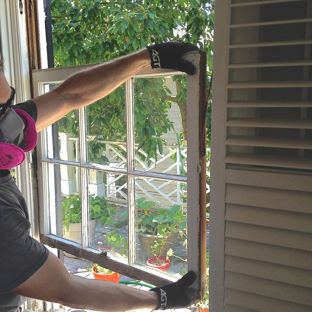 Fixing Single Hung Window : How to remove window sash the craftsman