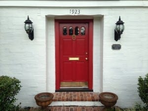 Red Front Doors. Red front door Contrast helps draw the eye and tells it where to focus  These dramatic colors add such interest that they can almost seem 3 Steps a Stunning Front Door The Craftsman Blog