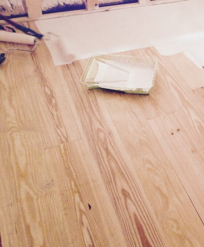 How To: Make Distressed Wood Floors