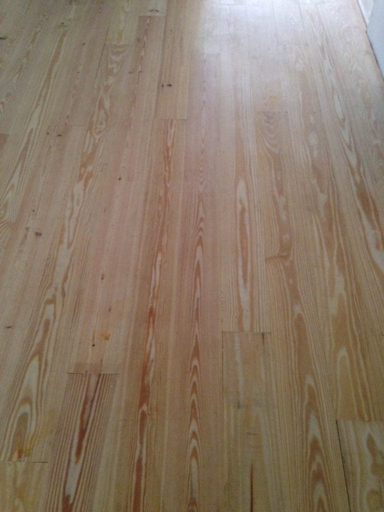 What grit sandpaper for pine wood floors thefloors co for Pine wood flooring