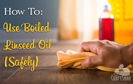how to apply linseed oil to indoor furniture