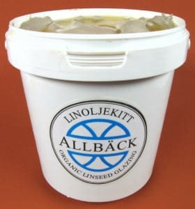 Allback linseed oil putty