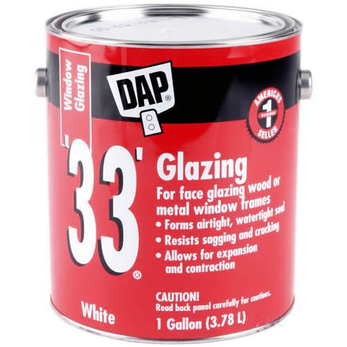 Dap 33 This Is An Old Standard For A Lot Of Window Glazing I M Not Fan It From Past Experience But Decided To Give Another Try Test