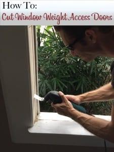 How to cut weight pocket doors