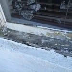 Deteriorated window