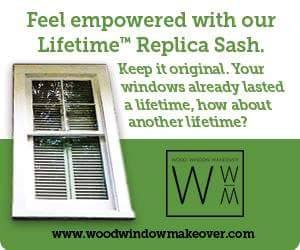 Wood Window Makeover