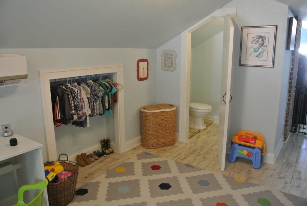 The Little Closet And Half Bath