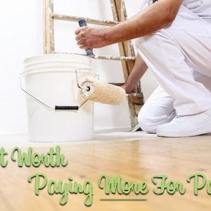 is it worth paying more for paint