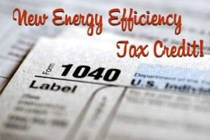 energy efficiency tax credit