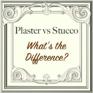 plaster vs stucco