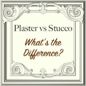 plaster vs stucco