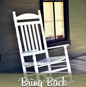 bring back the front porch