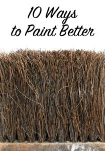 10 ways to paint better
