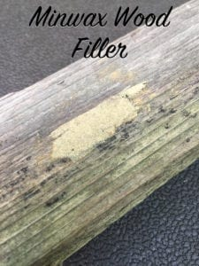 Minwax Wood Filler Year 2