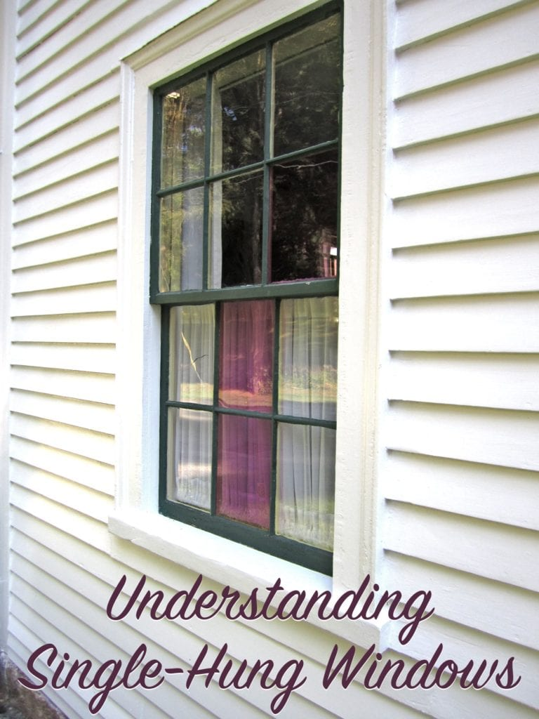 Drawings Of Single Hung Windows : Understanding single hung windows the craftsman